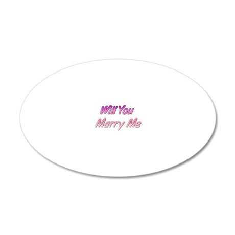 cooltext688052655 20x12 Oval Wall Decal