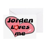 jorden loves me  Greeting Cards (Pk of 10)