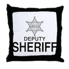 Deputy Sheriff Deputy Sheriff Throw Pillow
