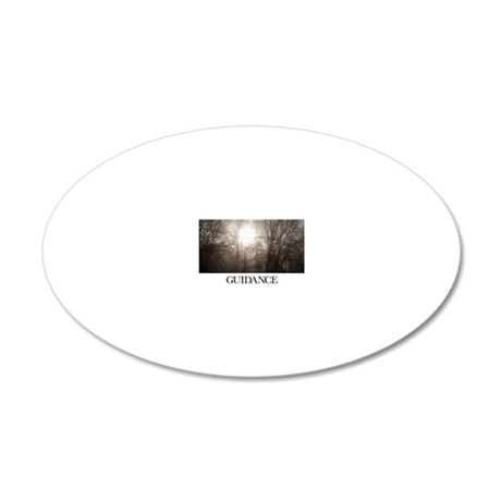 Inspirational Poster: There  20x12 Oval Wall Decal