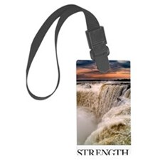 Inspirational Poster: It is pers Luggage Tag