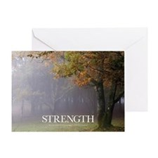 Inspirational Poster: Every great oa Greeting Card