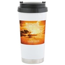 Inspirational Poster: A Journey Ceramic Travel Mug