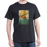 Pipe and Straw Hat T-Shirt