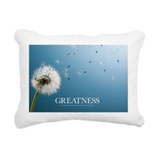 Inspirational Motivation Rectangular Canvas Pillow