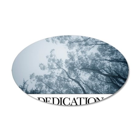 Inspirational Motivational P 35x21 Oval Wall Decal
