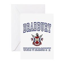 BRADBURY University Greeting Cards (Pk of 10)