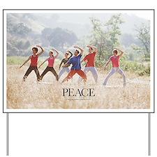 Inspirational Motivational Poster: A hap Yard Sign