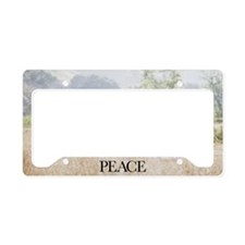 Inspirational Motivational Po License Plate Holder