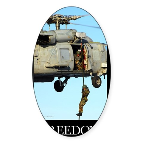 Motivational Poster: Soldier f Decal
