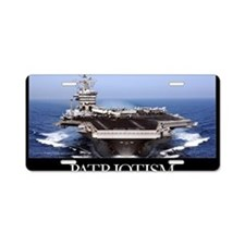Military Poster: The aircra Aluminum License Plate