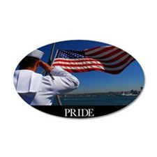 Military Poster: Pride, A sa Wall Decal