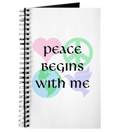 Peace Begins With Me Journal