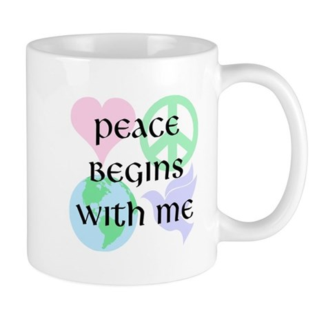 Peace Begins With Me Coffee Mug