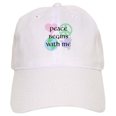 Peace Begins With Me Baseball Cap