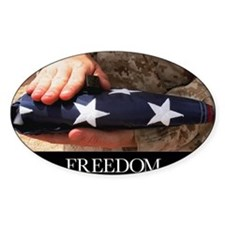 Military Motivational Poster: Freed Decal