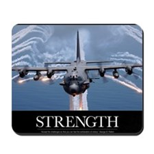 Military Motivational Poster: An AC-130H Mousepad