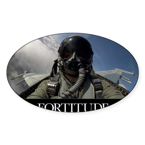 Military Poster: Self-portrait Decal