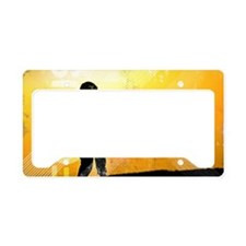 US Army Grunge Poster: Focus. License Plate Holder