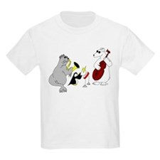 Animal Jazz Band Kids T-Shirt