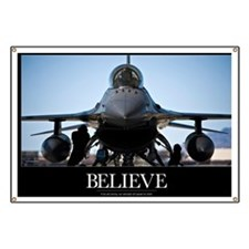Air Force Poster: U.S. Air Force crew chief Banner