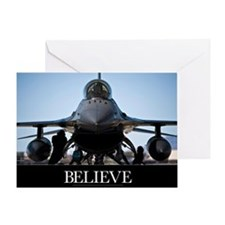 Air Force Poster: U.S. Air Force cre Greeting Card