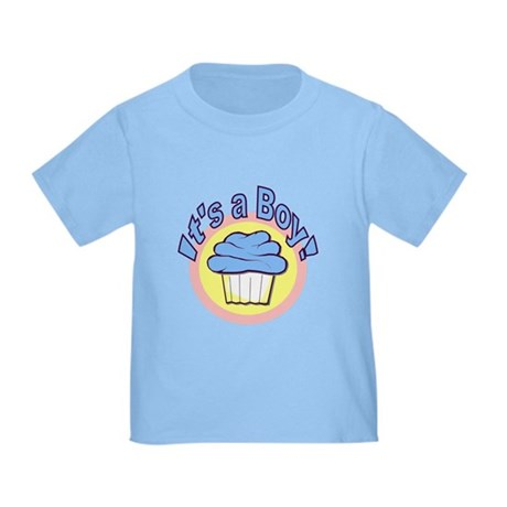 It's a Boy Cupcake Toddler T-Shirt