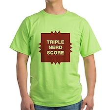 Triple Nerd Score T-Shirt