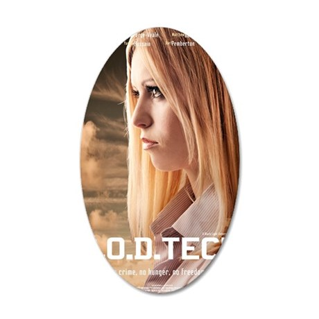 Lydia GODTECH Poster 35x21 Oval Wall Decal