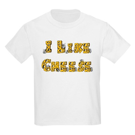 I like Cheese Kids T-Shirt