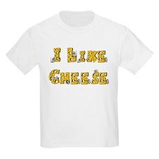 I like Cheese Kids T-Shirt