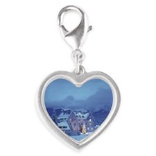 Schloss Kranzbach with Christm Silver Heart Charm