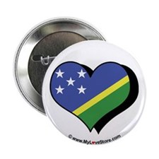 "I Love The Solomon Islands 2.25"" Button (100 pack"