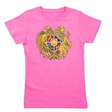 Armenia Coat of Arms Girl's Tee