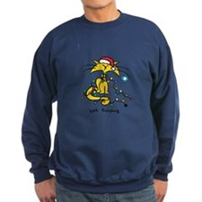 Men's Yellow Cat X-Mas Sweatshirt