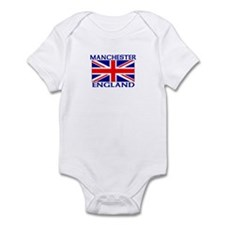 Cute Manchester united t Infant Bodysuit