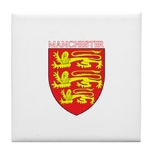 Cute English football Tile Coaster