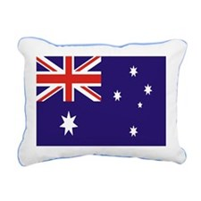 Australian Flag Rectangular Canvas Pillow