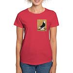 Black Bald West Women's Dark T-Shirt