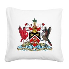 Trinidadand Tobago  Coat of A Square Canvas Pillow