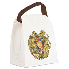 Armenia Coat of Arms Canvas Lunch Bag