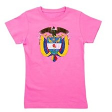Colombia Coat of Arms Girl's Tee