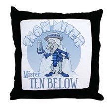 Snow Miser - Mister Ten Below Throw Pillow