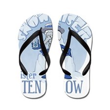 Snow Miser - Mister Ten Below Flip Flops