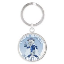 Snow Miser - Mister Ten Below Round Keychain