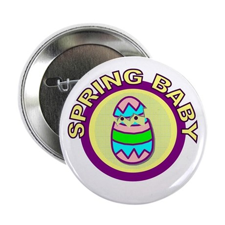 "Spring Baby 2.25"" Button (10 pack)"