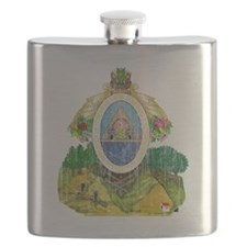 Honduras Coat of Arms Flask