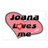 joana loves me  Postcards (Package of 8)