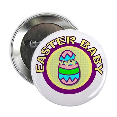 Easter Baby Button