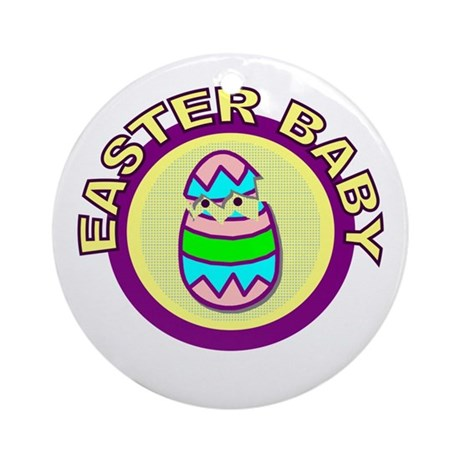 Easter Baby Ornament (Round)